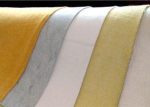Нетканое иглопробивное полотно и фильтровальные рукава